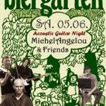 Acoustic Guitar Night | MichelAngelou & Friends | Biergarten Darmstadt