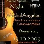 MichelAngelou - Live im LEVEL 6