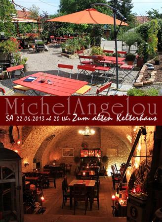 MichelAngelou Quartett - LIVE - Zum alten Kelterhaus