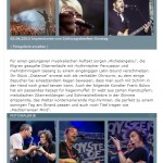 MichelAngelou Acoustic Quartett - Schlossgrabenfest 2013