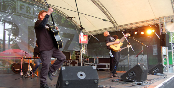 Für uns stoppt sogar der Regen am Schlossgrabenfest 2013