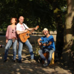 Fotoshooting im schönen Herrngarten