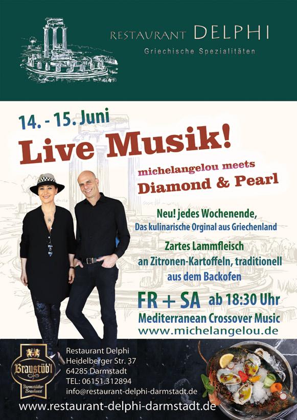 DIAMOND & PEARL LIVE im Delphi Darmstadt