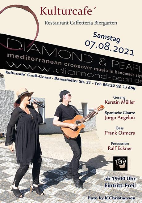 Diamond & Pearl - Live im Kulturcafe´Groß-Gerau